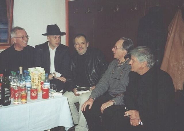 Oliver Dragojevič, Vlado Kreslin, Đorđe Balašević, Stipica Kalodjera, Kemal Monteno