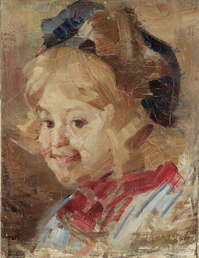 Vidosava Kovacevic, Glava devojcice 1912