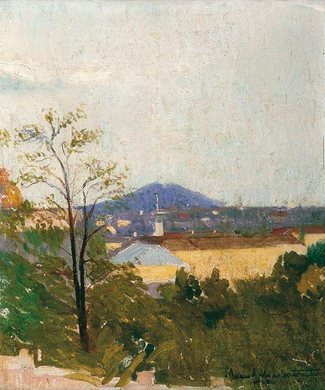 M Milovanovic Pogled na Avalu 1909
