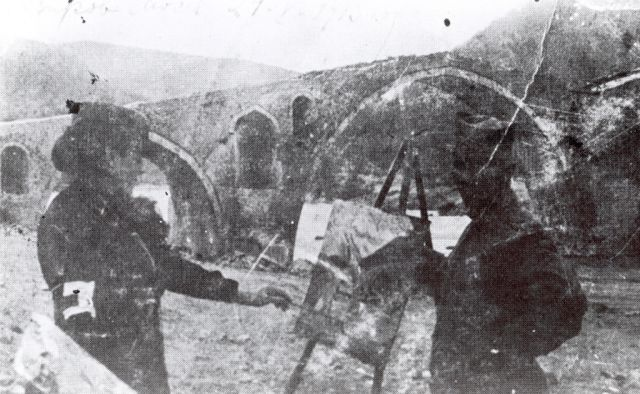 Nadežda Petrovic slika Vezirov most, 1913.