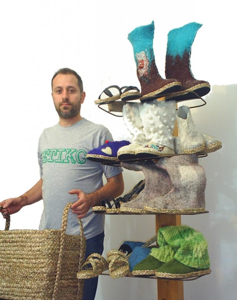 Pavle Neåakov iz Zrenjanina unapredio je zanat izrade predmeta od rogoza