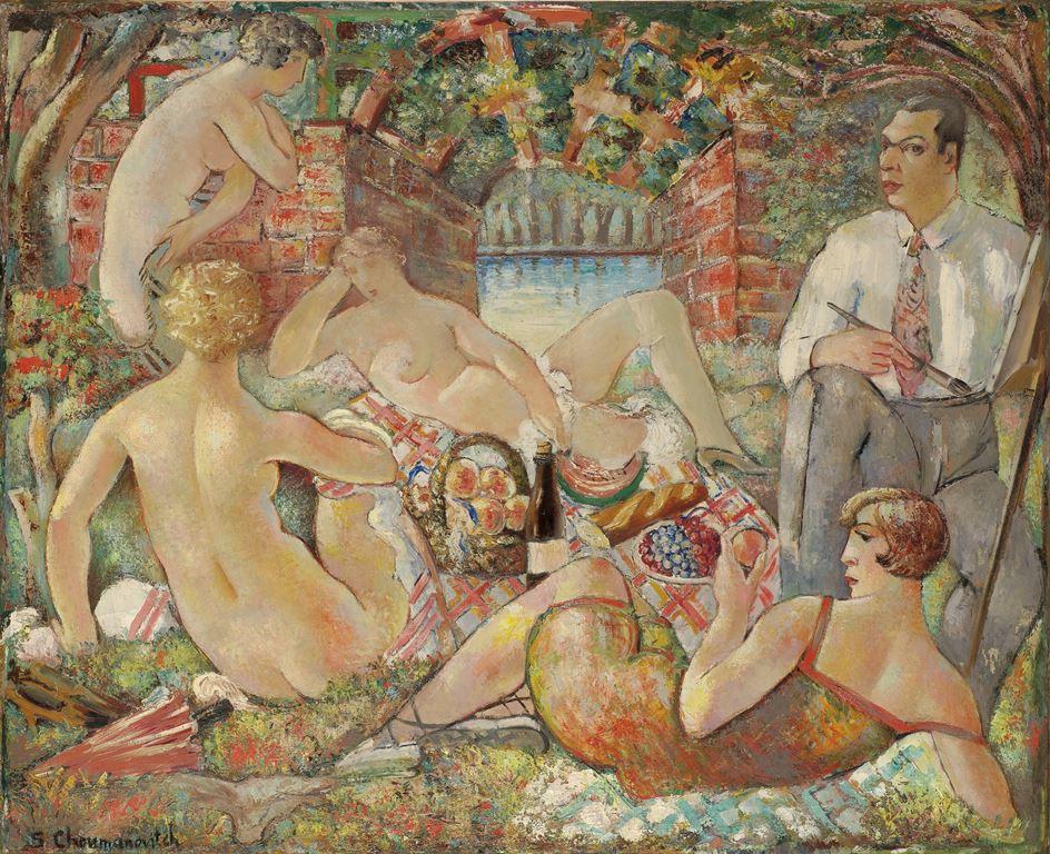 Doručak na travi, 1927.