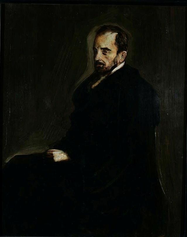 Ljubo Babić, Portret Miroslava Krleže, 1918.