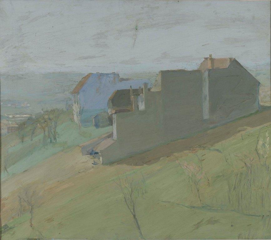 "Milan Štajner - ""Pogled na savsku dolinu"" oko 1918."