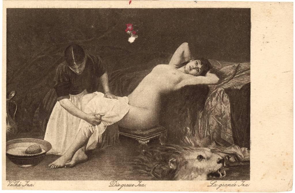 Velika Iza, poštanska razglednica 1882.
