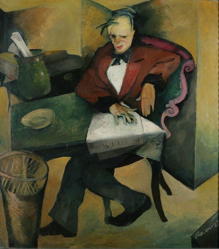 """Vilko Gecan, """"Cinik"""" 1921."""