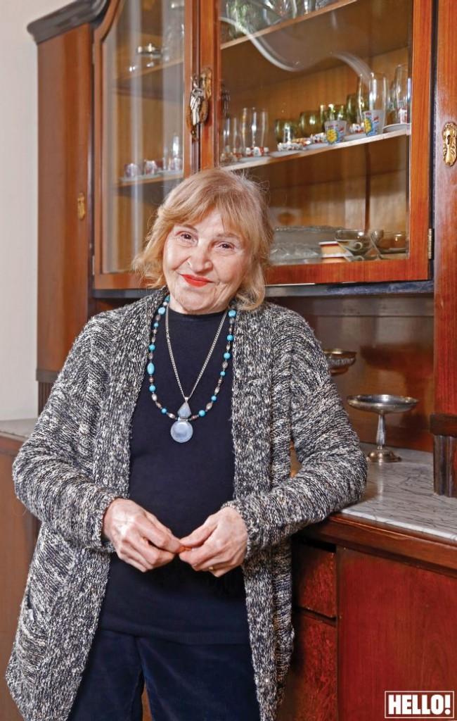 Glumica Mira Banjac  za magazin Hello.  foto Bosko Karanovic