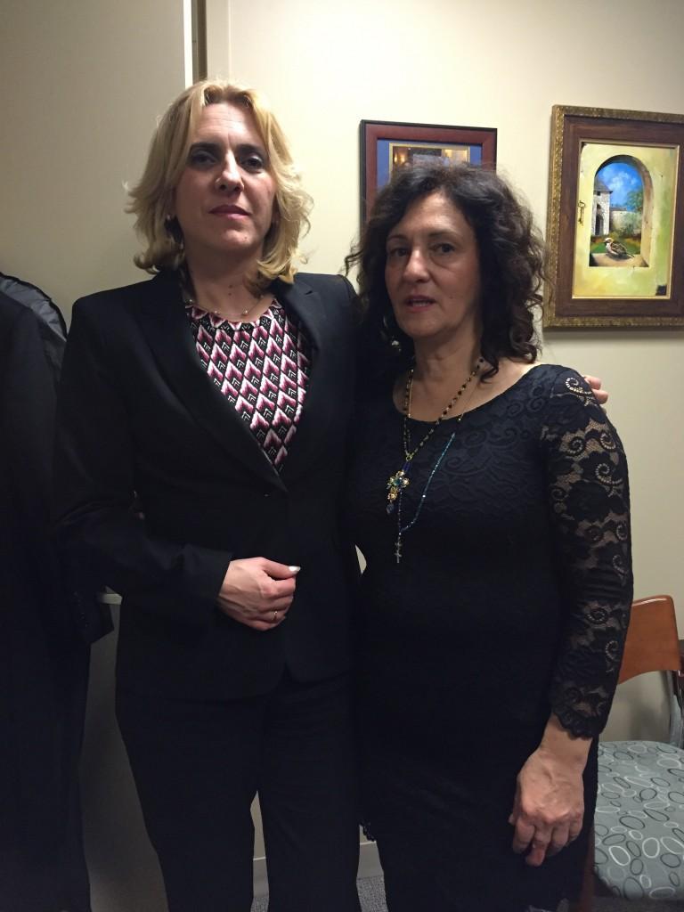 Premijerka Republike Srpske Željka Cvijanović i Svetlana Horvat