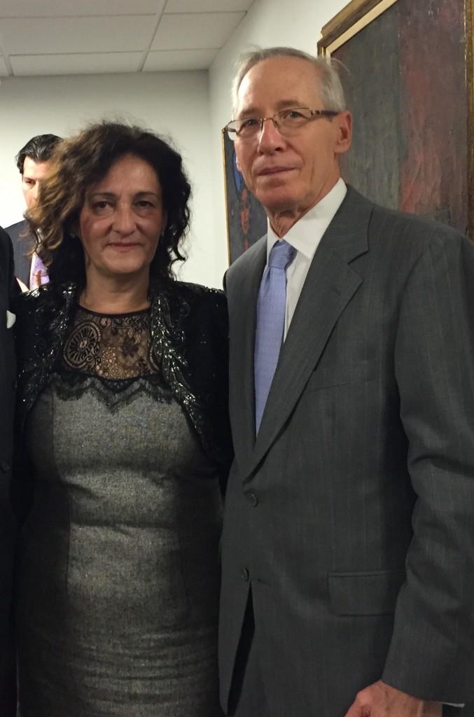 Doskorašnji ambasador SAD u Srbiji - Majkl Kirbi i Svetlana Horvat