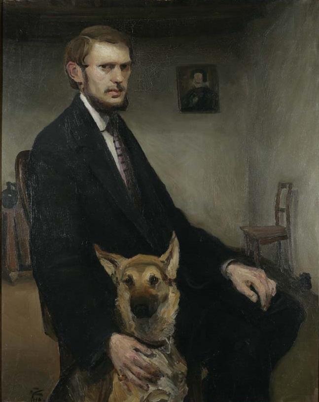Miroslav Kraljević, Autoportret, 1910. godina