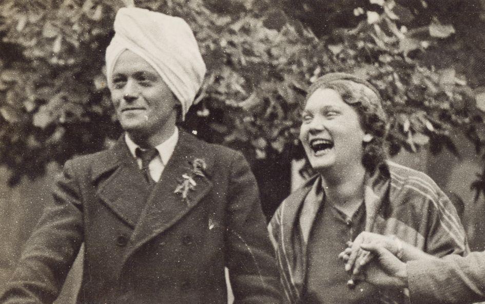 Milo Milunović i Olga Bogdanović 1932. godina