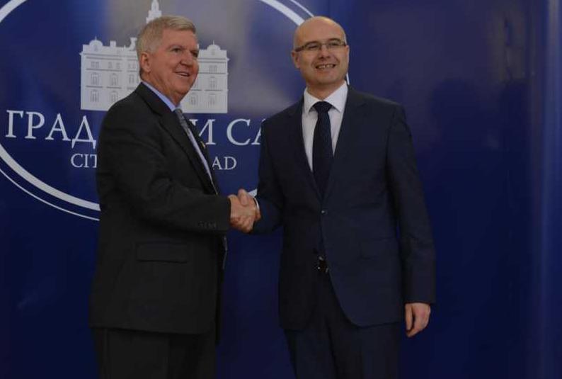 Milos Vucevic i ambasador USA 1