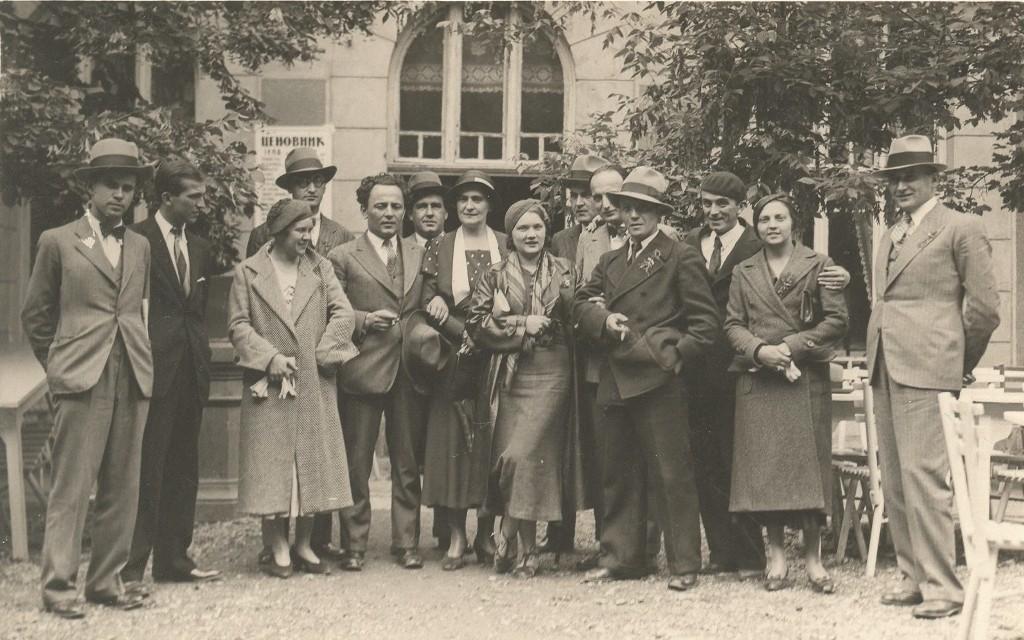 Venčanje Olge Bogdanović i Mila Milunovića, kum Pavle Beljanski 1932. godina