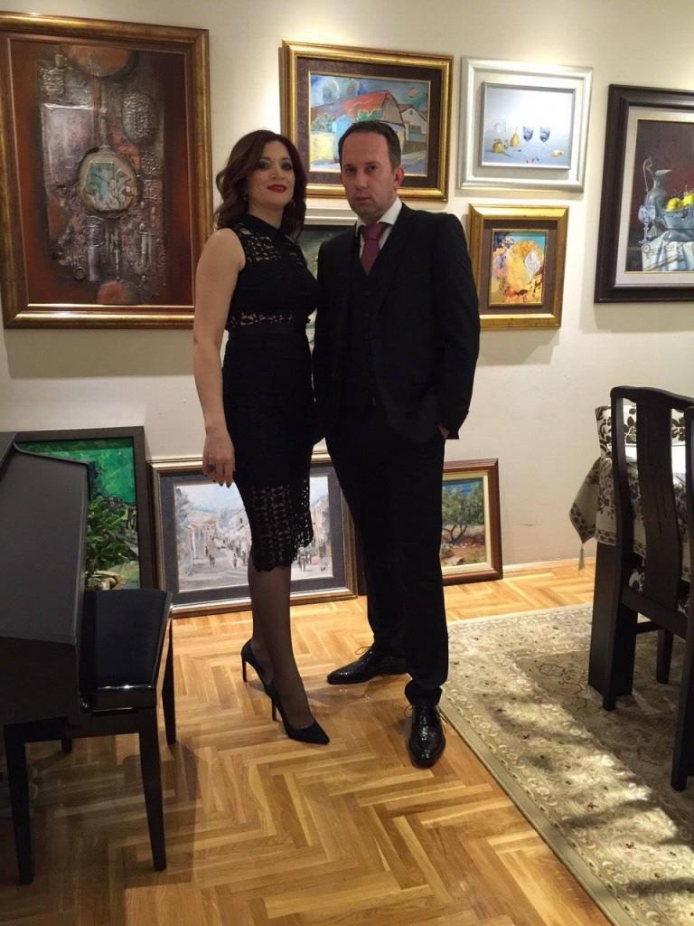 Dr Stajić sa suprugom