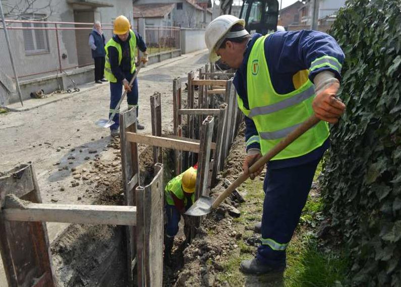 Izgradnja kanalizacije Mali Beograd (1)