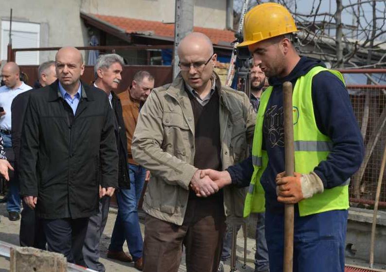 Izgradnja kanalizacije Mali Beograd (2)