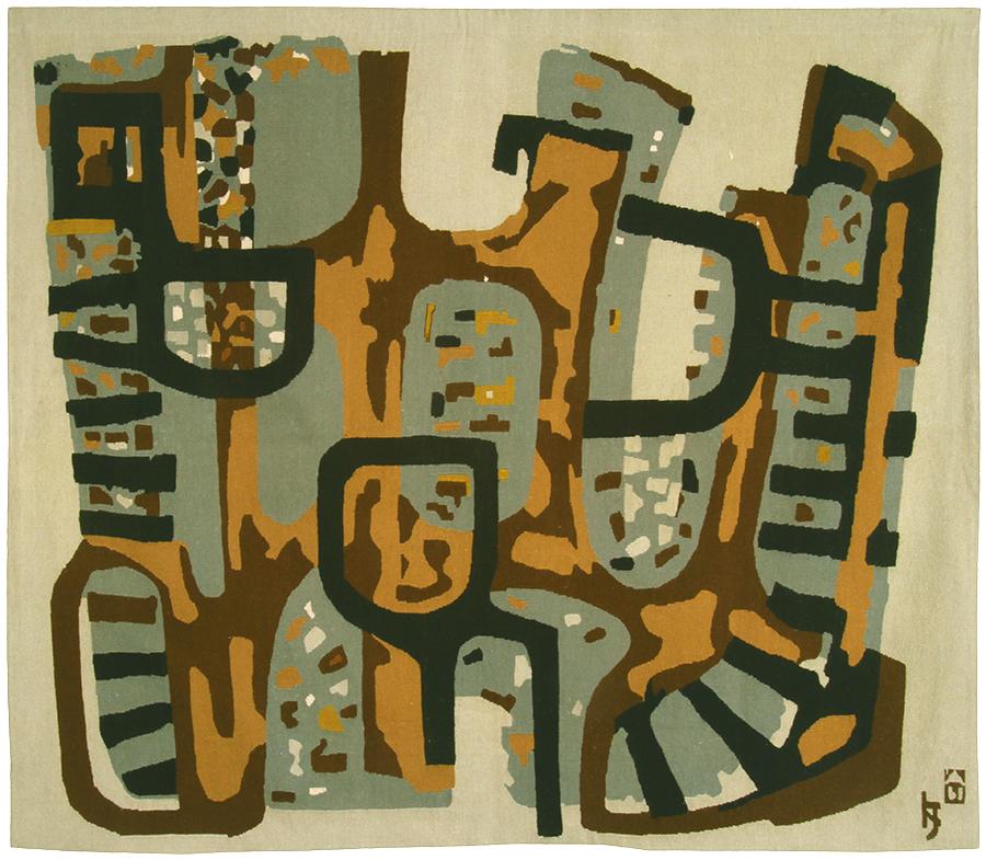 Jovan Kratohvil, Kompozicija I, 1962.