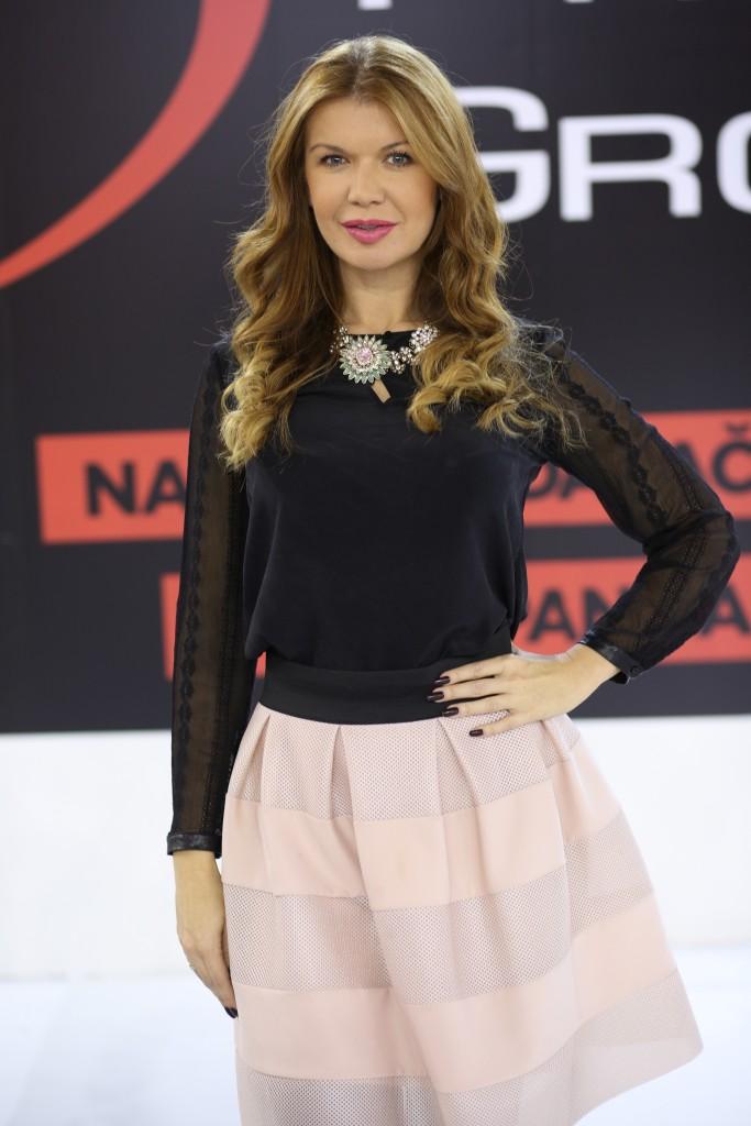 """Milica Đokić - direktorka korporativnih komunikacija """"Color Press Grupe"""" u sedištu kompanije u Novom Sadu"""