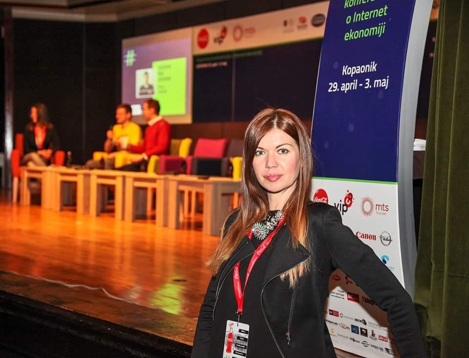 Milica Đokić na čelu je kompanije Color Media Communications koja godišnje organizuje više od 60 konferencija na različite teme