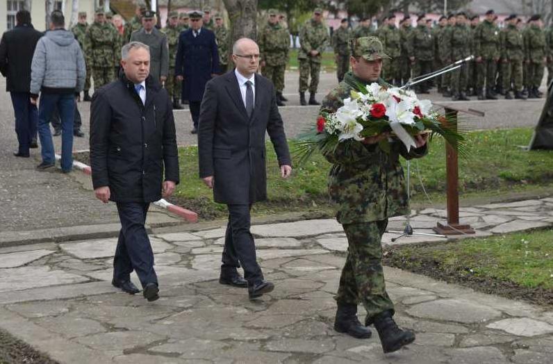 Milos Vucevic dan secanja na Nato zrtve (1)