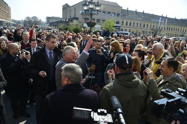 Princ Carls u Novom Sadu
