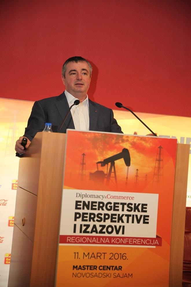"Dušan Bajatović - generalni direktor JP ""Srbijagas"""