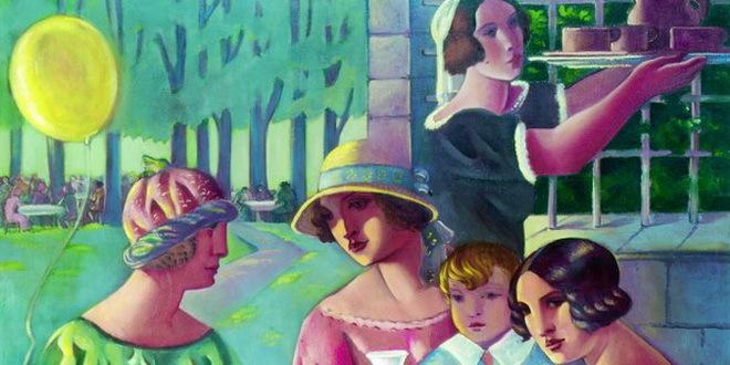 sava-sumanovic,-engleskinje-u-parizu,-1925