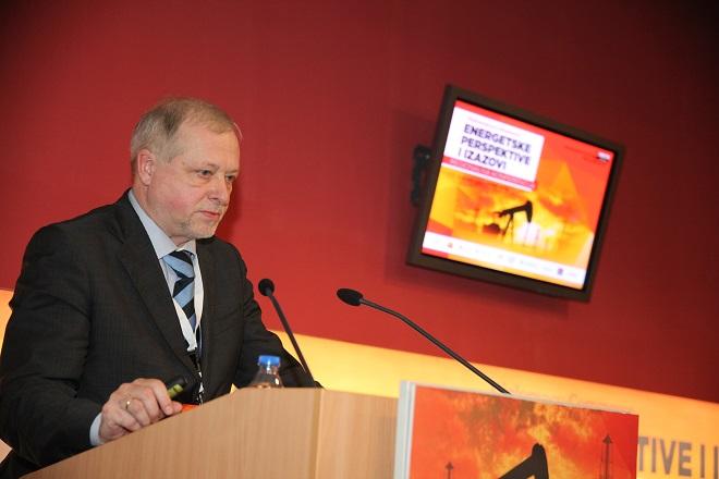 Sergej Kolmlev - predstavnik Gasprom Exporta