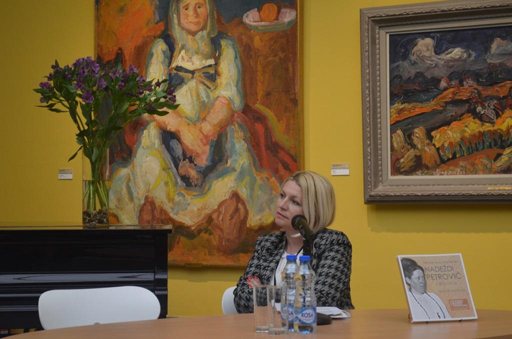 Moderator 1. sesije dr Sarita Vujkovic