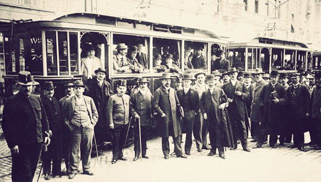 Svečano puštanje u promet tramvaja 30.09.1911. godine