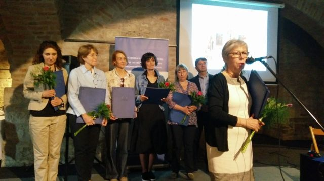 Jasna Jovanov se zahvaljuje za Nagradu projekat godine NK ICOM-a Srbije
