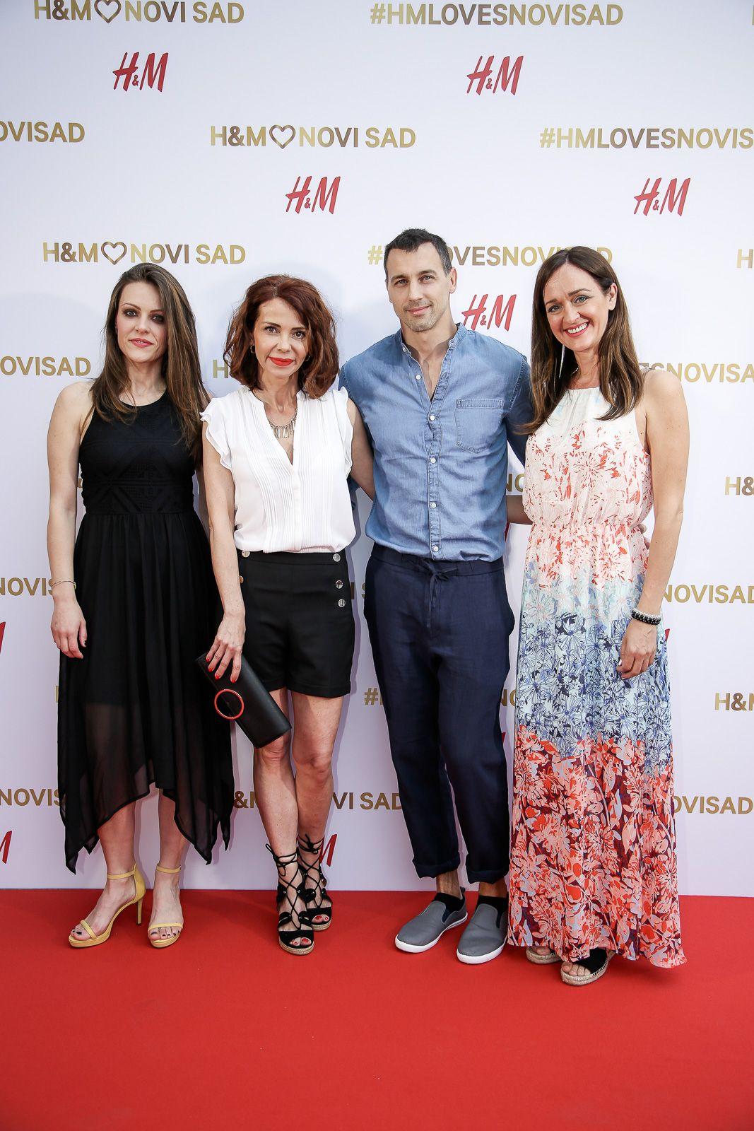 Cveta, Jelena, Vladimir i Mara