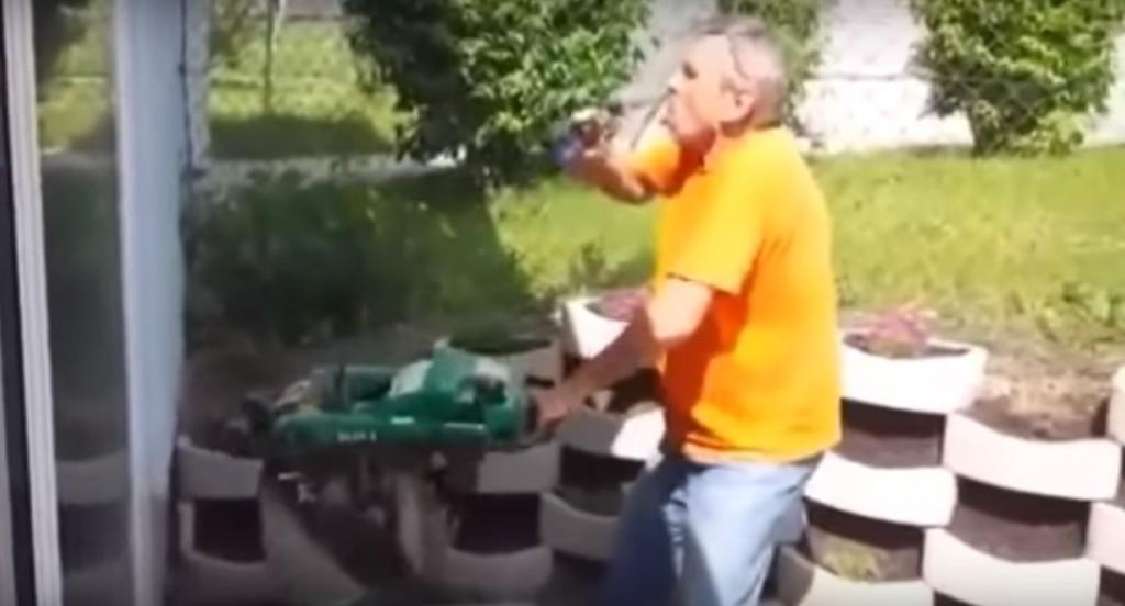 Novosađanin i pivo