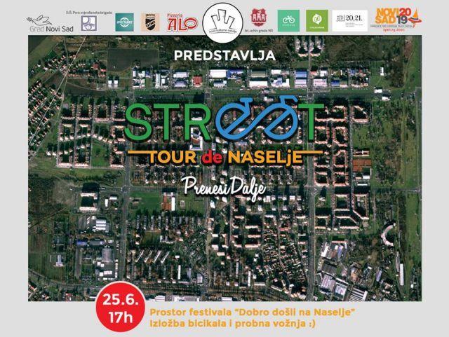 Street Tour de Naselje plakat
