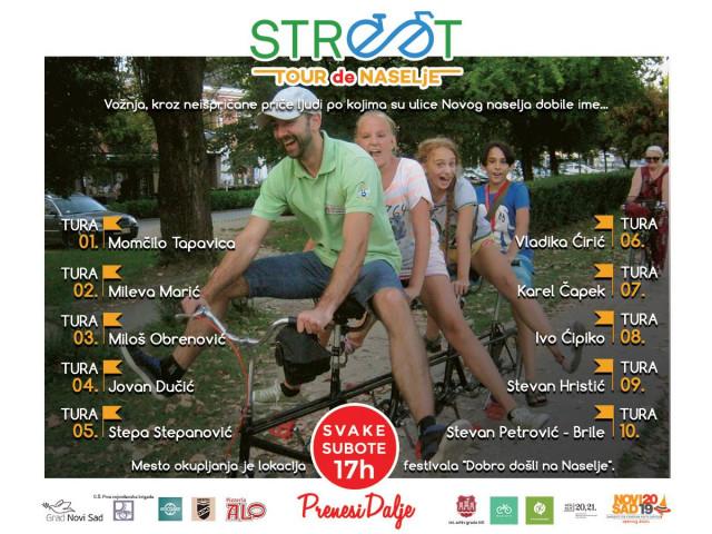 Street Tour de Naselje plakat.
