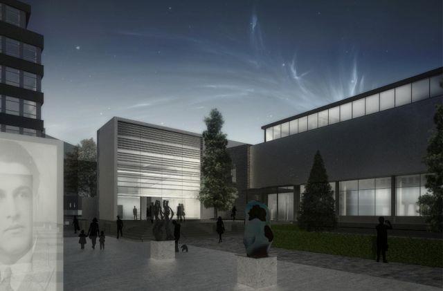 Idejni projekat Trga galerija