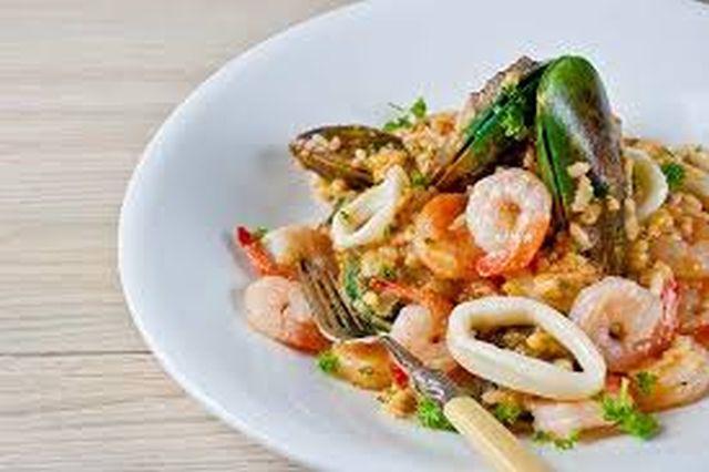 Italijanska kuhinja Rizoto-morski-plodovi