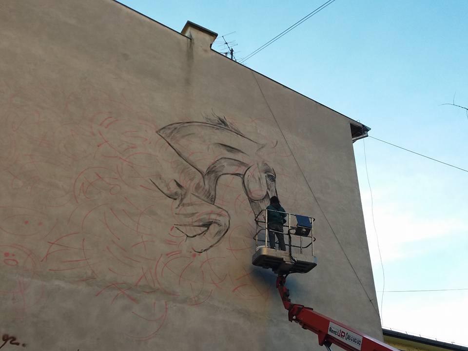 Uskoro novi mural u novom sadu novosadska hronika for Mural u vukovarskoj ulici